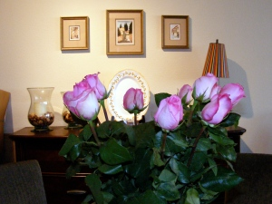 Jim's Roses and Italian Paintings